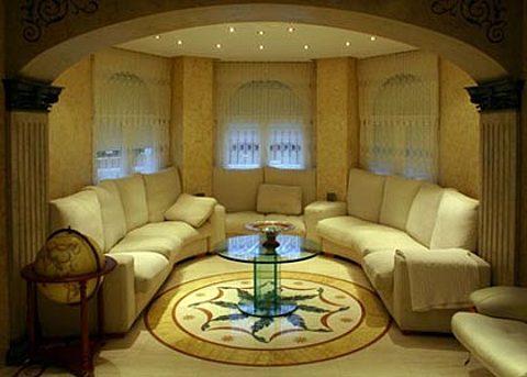 Чистовая отделка и дизайн интерьера гостиной