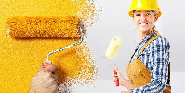 Чтобы поверхности покрасить, их нужно идеально выровнять.