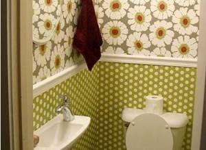 Даже самый маленький туалет можно превратить в шедевр, помещение с комфортной и расслабляющей обстановкой.