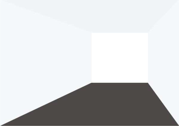 Даже схематичное изображение позволяет оценить влияние цветов на восприятие объема.