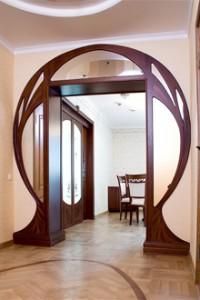 Даже такая арка не является чем-то сногсшибательным, если общий подход понятен, а инструкция всего процесса разложена по полочкам в голове