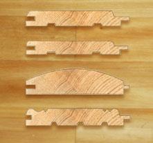Деревянная вагонка может иметь различный профиль, от которого зависит внешний вид покрытия