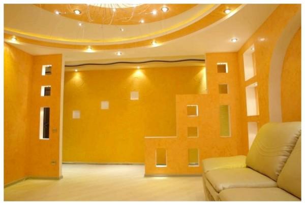 Дизайн помещения, созданный при помощи гипсокартона