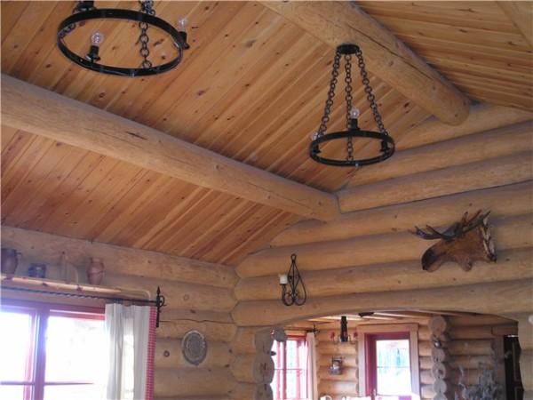 Для бревенчатых строений какие-либо отделочные материалы не нужны