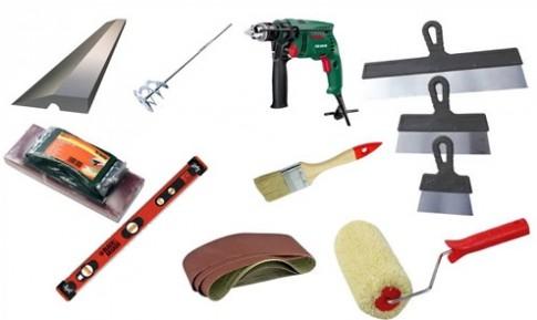 Для работы вам понадобится определенный набор инструментов