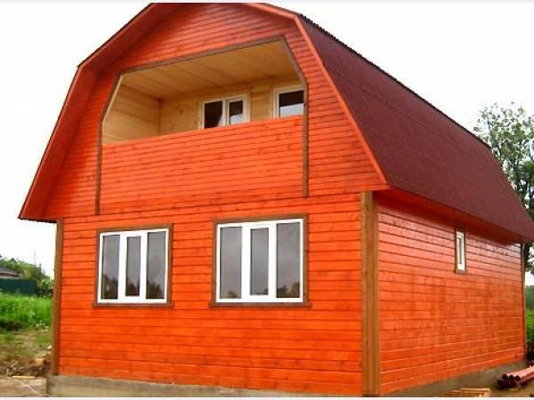 Древесина – традиционный материал для постройки жилищ