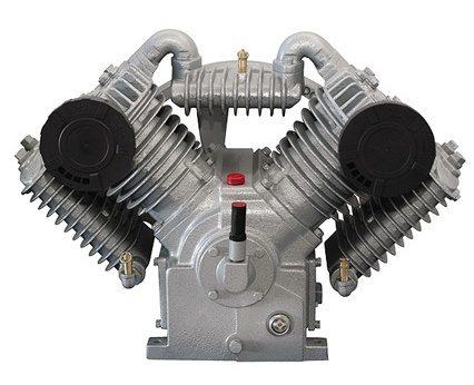 Двухцилиндровый рабочий агрегат поршневого типа.