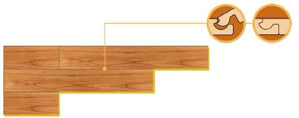 Его монтаж простой и быстрый: соединение на клей или специальными защелками (оригинальные замки предусмотрены производителями).