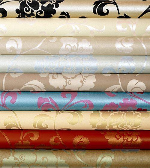 Экологически безопасные текстильные обои на бумажной основе.