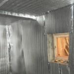 Экранирование помещения для предотвращения выхода инфракрасного излучения