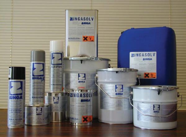 Электропроводная краска Zinga предназначена для холодного цинкования металлов.
