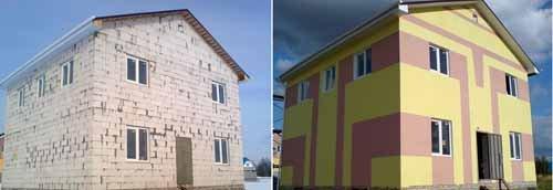 Если решить задачу, как правильно оштукатурить фасад дома, то сомнений в выборе материала для отделки не будет никаких
