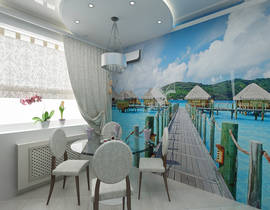 Если вы не знаете, какие выбрать обои – панорама для стен с вашим любимым пейзажем станет отличным решением