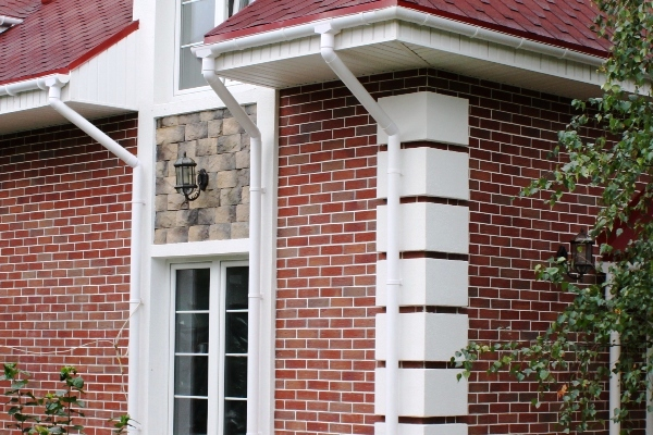 Фасад отделанный клинкерной плиткой