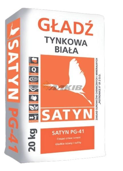 Финишная штукатурка SATYN PG-41