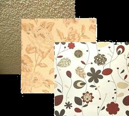 Флмзелин может иметь рисунок либо выпускаться под покраску.