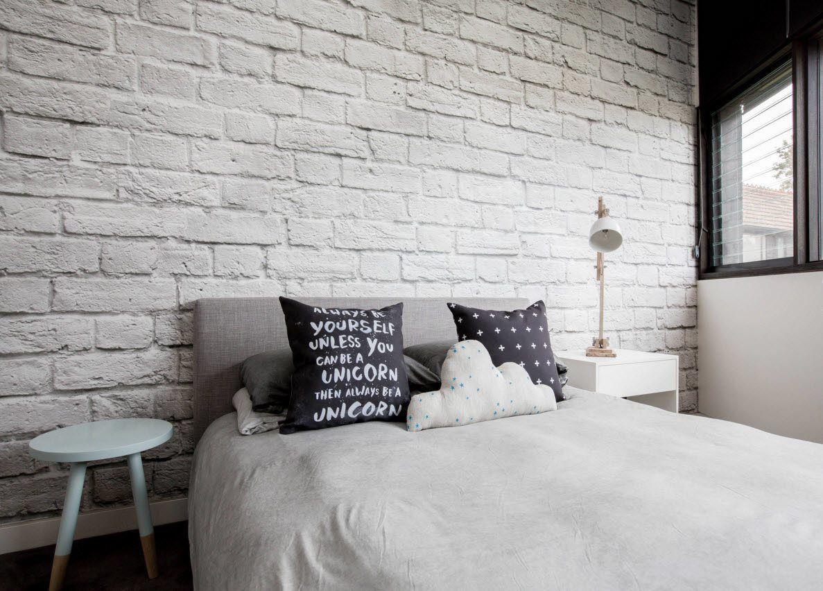 стены под белый кирпич