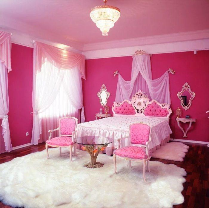 Комната в гламурном стиле
