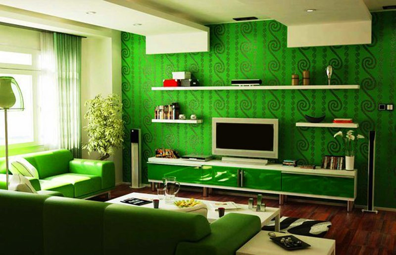 Переизбыток зеленого