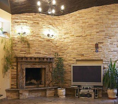 Фото декорированной гостиной