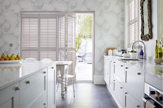 Фото элегантно выполненной отделки кухни