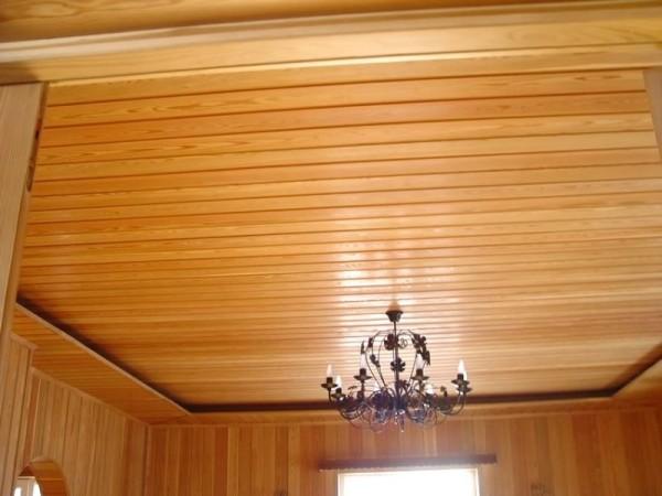 Фото качественной отделки потолка