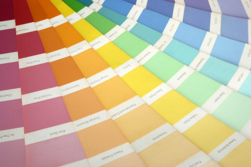 Как сделать цвет для краски стен
