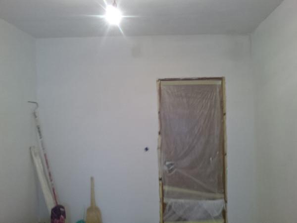 Фото помещения, которое осталось только покрасить