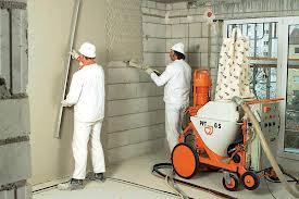 Фото работ по внутренней отделке стен