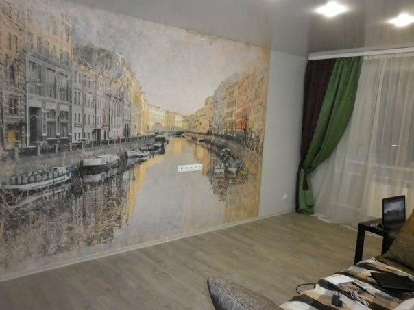 Фотообои под фреску