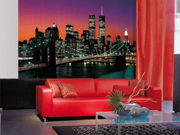 Фотообои с изображением Нью-Йорка