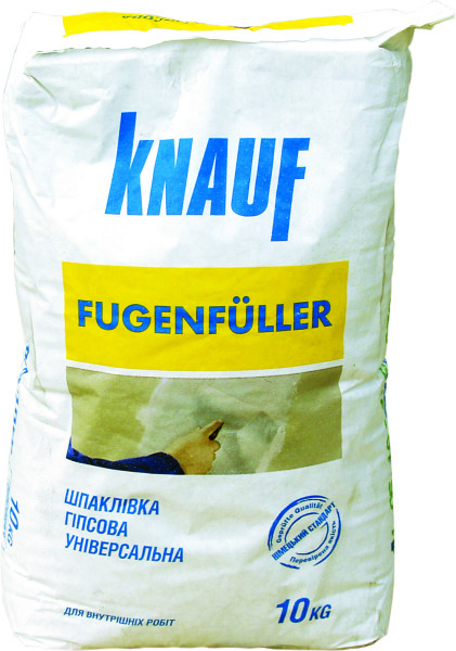 Фугенфюллер - качественная шпаклевка от немецкого производителя.