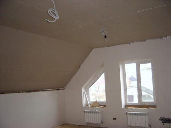 Гипсокартон в отделке стен и потолка