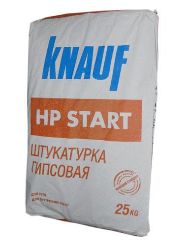 Гипсовая штукатурка HP Start от компании Кнауф.