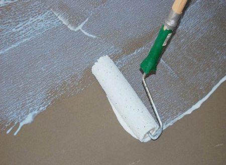 Грунтование бетонного пола своими руками