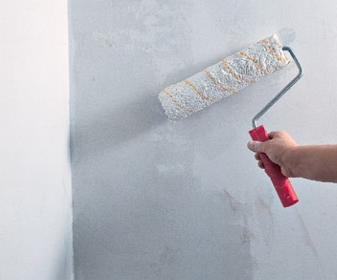 Грунтование стенок