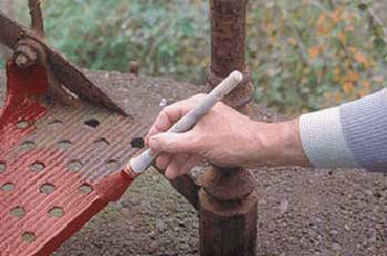 Грунтовка металлической поверхности