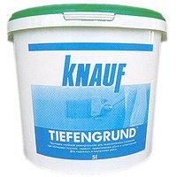 Грунтовка по гипсокартону Knauf