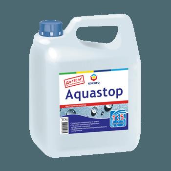 Грунтовочная смесь для гипсокартонных листов Aquastop Eskaro