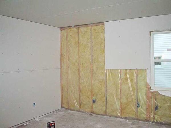 ГВЛ-отделка – лучший способ сделать ровные чистые стены.