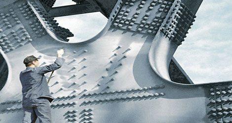 Холодное цинкование металлоконструкции