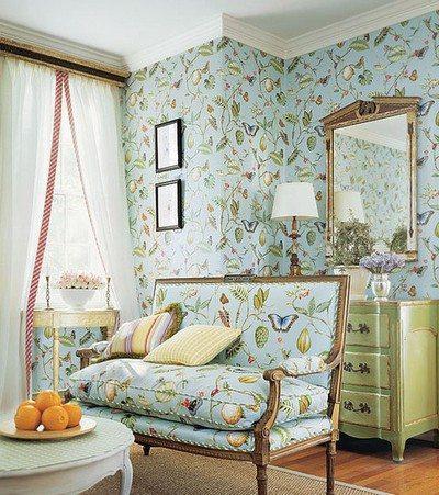 Идеальное сочетание отделки стен с мебельным интерьером