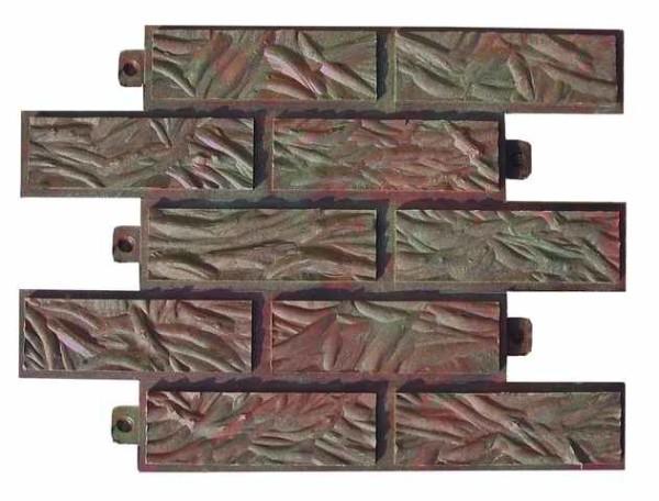 Имитация кирпича из песка и полимерного связующего