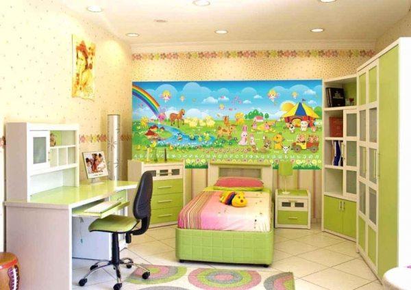 Инструкция по созданию такой детской комнаты может состоять только из одной фразы – все действия должны быть пропитаны любовью к ребёнку, она подскажет и обои, и мебель, и её дизайн