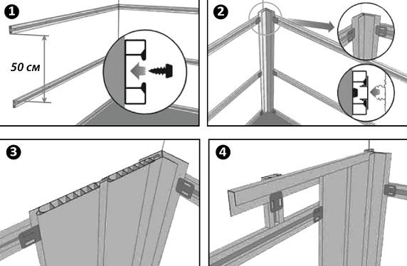 Инструкция проведения монтажных работ
