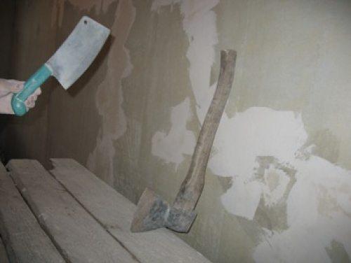 Инструменты для механического удаления старого покрытия