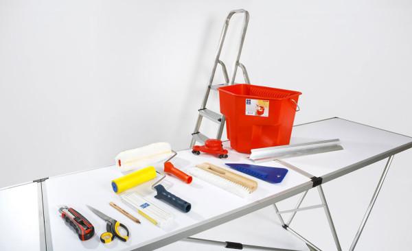 Инструменты для выполнения обойных работ.