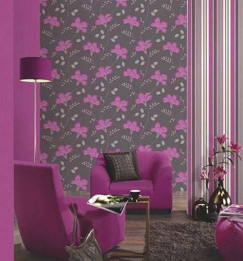 Интерьер в помещении стоит создавать на основе мебели и именно под нее подбирать расцветку покрытия стен