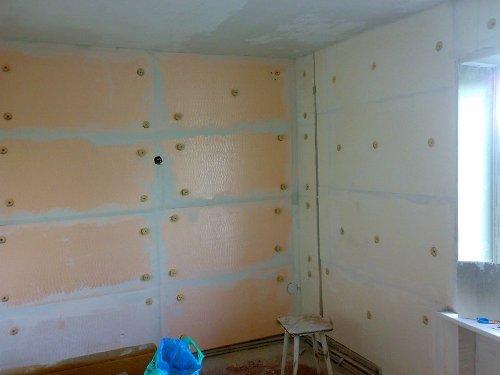 Использование гипсокартона для финишной отделки стен