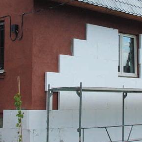 Использование пенополистирола для наружного утепления стен